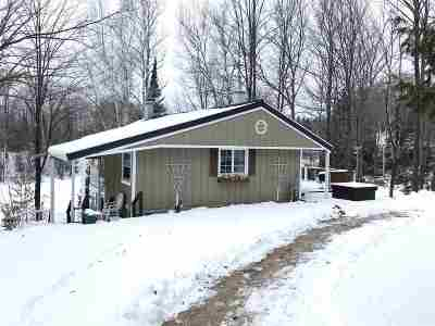 Oconto County Single Family Home Active-No Offer: 18309 Hwy 32