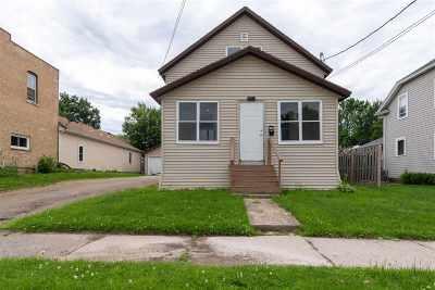 Menasha Single Family Home Active-No Offer: 619 5th