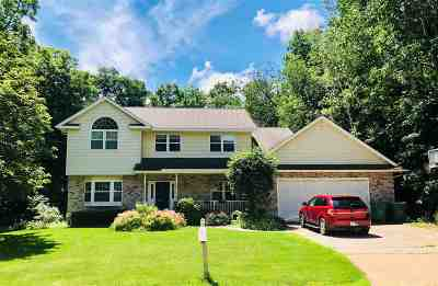 Waupaca Single Family Home Active-No Offer: 635 Woodland