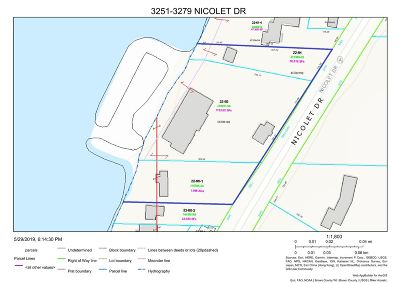 Brown County Residential Lots & Land Active-No Offer: 3261 Nicolet