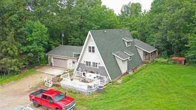 Waupaca Single Family Home Active-No Offer: N2735 Hartman Creek