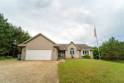 Waupaca Single Family Home Active-No Offer: W4779 Mallas