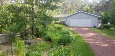 Waupaca Single Family Home Active-No Offer: 11034 East
