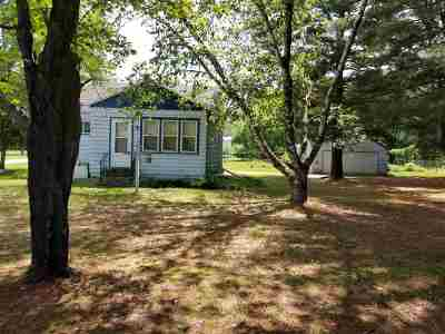 Waupaca Single Family Home Active-No Offer: E1529 Rural