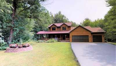 Oconto County Single Family Home Active-Offer No Bump: 1794 Zion