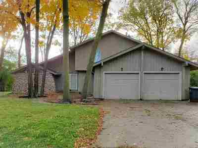 Menasha Single Family Home Active-No Offer: 1298 Mayer