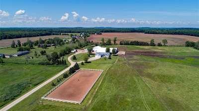Shiocton Farm Active-No Offer: N4555 Hwy 76