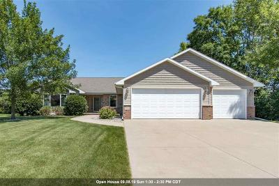 Appleton Single Family Home Active-No Offer: W5946 Sweet Pea