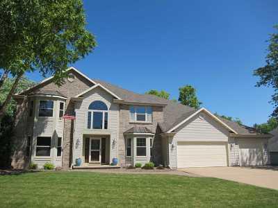 Appleton Single Family Home Active-No Offer: 434 E Haddonstone