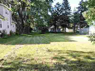 Oshkosh Residential Lots & Land Active-No Offer: W 24th
