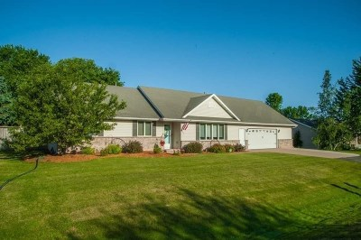 Appleton Single Family Home Active-No Offer: N9615 Emerald