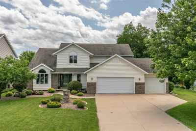 Neenah Single Family Home Active-No Offer: 1357 Martingale
