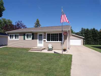 Oshkosh Single Family Home Active-Offer No Bump: 1102 S Westfield