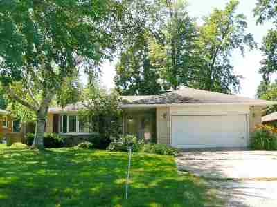 Green Bay Single Family Home Active-No Offer: 1933 Darwin