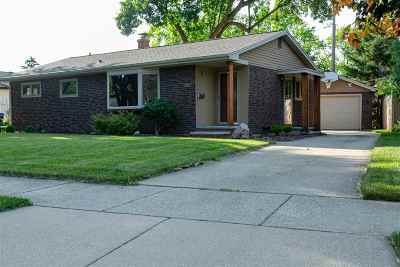 Neenah Single Family Home Active-No Offer: 334 Bellin