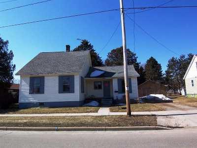 Oconto Single Family Home Active-No Offer: 236 Smith