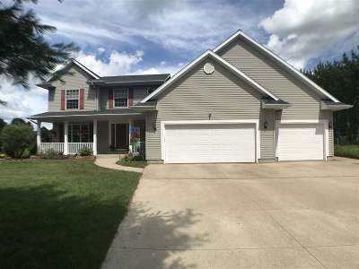 Shawano Single Family Home Active-No Offer: N4324 Country