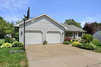 Appleton Single Family Home Active-No Offer: 4124 Tigerlily