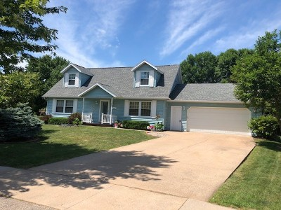 Oshkosh Single Family Home Active-No Offer: 1613 Thornton