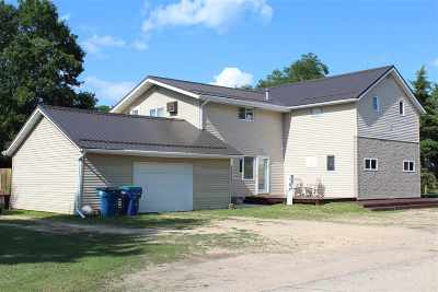 Shawano County Multi Family Home Active-No Offer: W8506 Belle Plaine