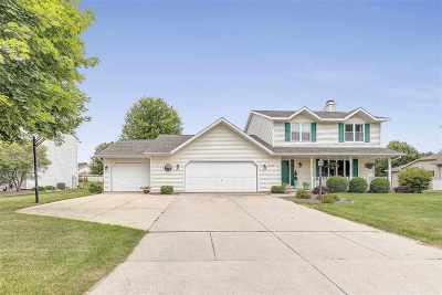 Green Bay Single Family Home Active-No Offer: 2640 Foxfire