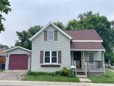 Menasha Single Family Home Active-No Offer: 624 Paris