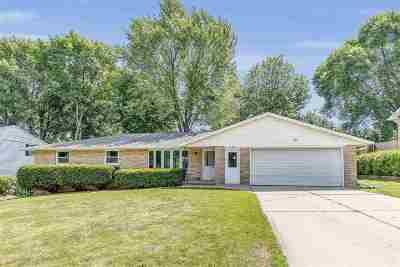 Green Bay Single Family Home Active-Offer No Bump: 949 Rasmussen