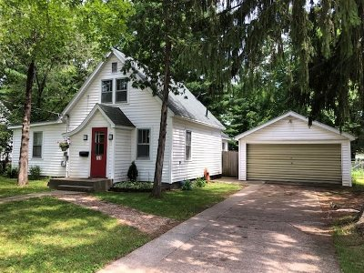 Waupaca Single Family Home Active-No Offer: 721 7th