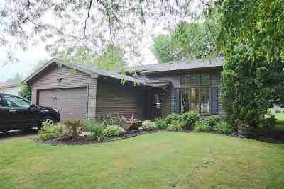 Oshkosh Single Family Home Active-No Offer: 1635 Villa Park