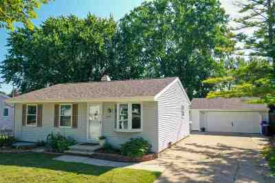 Appleton Single Family Home Active-No Offer: 2524 S Fountain