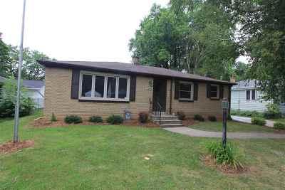 Green Bay Single Family Home Active-No Offer: 1241 Langlade