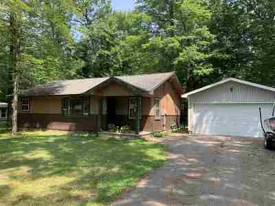 Shawano Single Family Home Active-No Offer: N6046 Mork