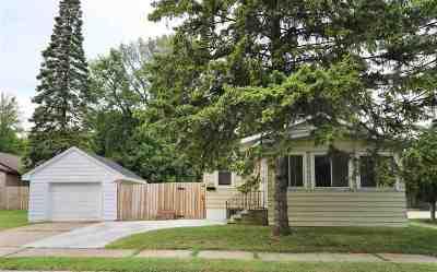 Green Bay Single Family Home Active-No Offer: 1230 Thomas