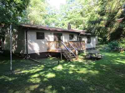 Waupaca Single Family Home Active-No Offer: N1863 N Virginia
