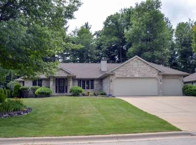 Green Bay Single Family Home Active-No Offer: 2777 Dewey Decker