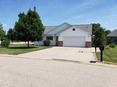 Neenah Single Family Home Active-No Offer: 1567 Hillington