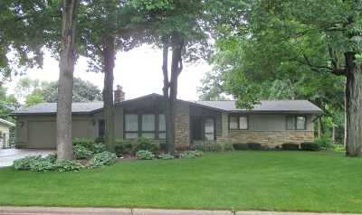 Green Bay Single Family Home Active-No Offer: 579 Edgewood