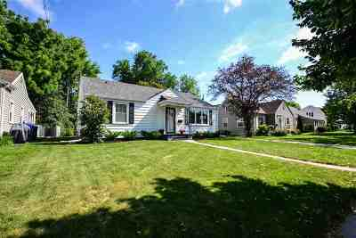 Appleton Single Family Home Active-No Offer: 1708 Lorain