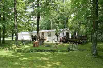 Oconto County Single Family Home Active-No Offer: 13218 N White Potato Lake