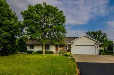 Appleton Single Family Home Active-No Offer: W3283 Heartland