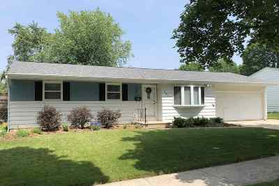 Green Bay Single Family Home Active-No Offer: 1857 Lilac