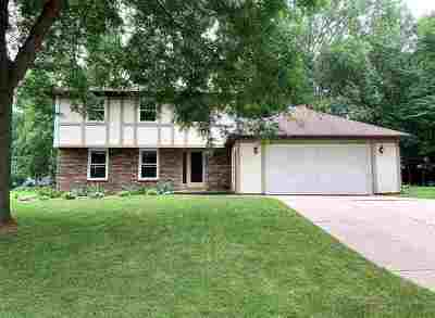 Green Bay Single Family Home Active-No Offer: 2465 Parkwood