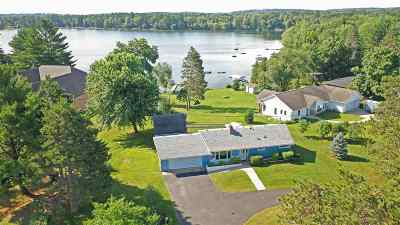 Waupaca Single Family Home Active-No Offer: E2421 Spencer Lake