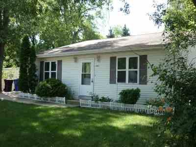 Appleton Single Family Home Active-No Offer: 307 E Wilson