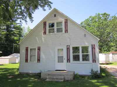 Suring Single Family Home Active-No Offer: 347 S Knapp