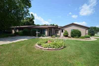 Shawano Single Family Home Active-No Offer: 1175 E Ridlington