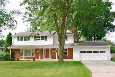 Green Bay Single Family Home Active-No Offer: 320 Tower View