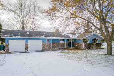 Appleton Single Family Home Active-No Offer: 3325 W Broadway