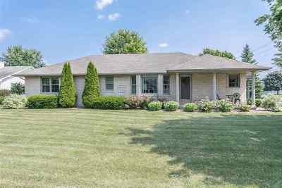 Green Bay Single Family Home Active-No Offer: 1575 Van