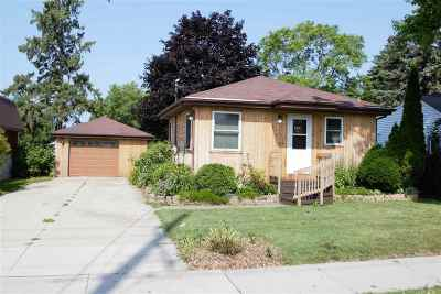 Little Chute WI Single Family Home Active-Offer No Bump: $94,900